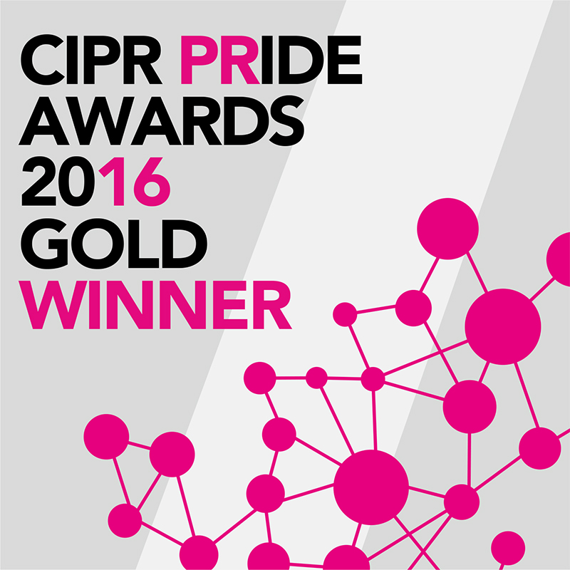 PRide 2016 Gold winner button