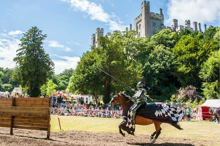 big International Jousting Tournament at Arundel Castle 2013 Photo credit Julia Claxton